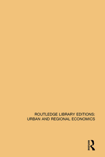 Deindustrialization and Regional Economic Transformation The Experience of the United States book cover