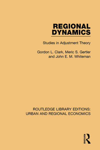 Regional Dynamics Studies in Adjustment Theory book cover