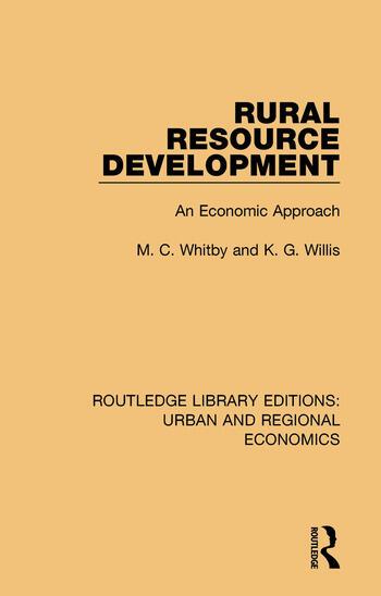 Rural Resource Development An Economic Approach book cover