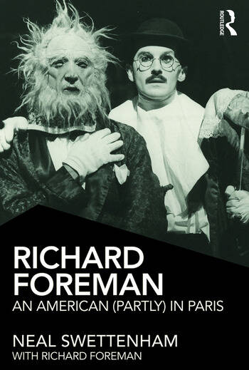 Richard Foreman An American (Partly) in Paris book cover