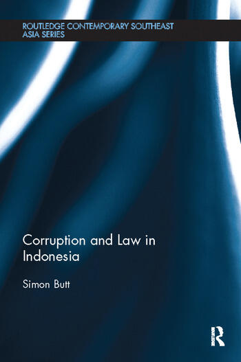 Corruption and Law in Indonesia book cover