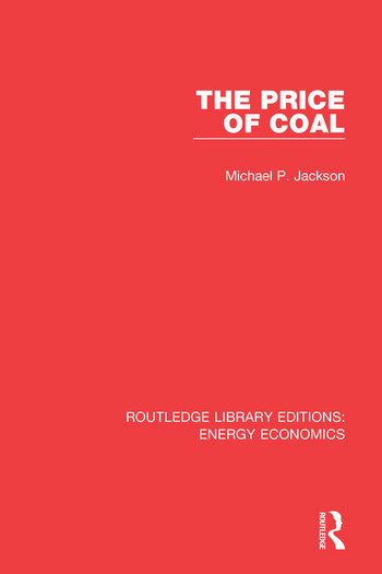 Routledge Library Editions: Energy Economics book cover