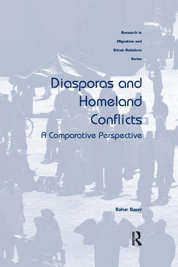 Diasporas and Homeland Conflicts A Comparative Perspective book cover