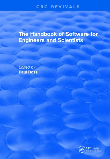 Revival: The Handbook of Software for Engineers and Scientists (1995) book cover