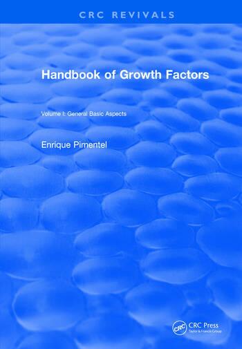 Handbook of Growth Factors (1994) Volume 1 book cover