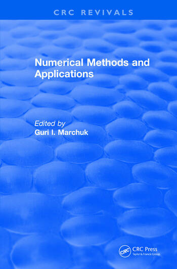 Numerical Methods and Applications (1994) book cover