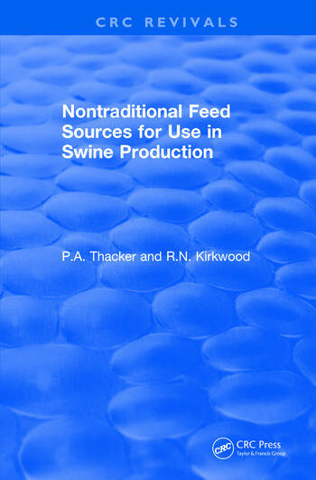 Non-Traditional Feeds for Use in Swine Production (1992) book cover