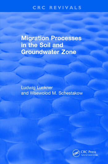 Migration Processes in the Soil and Groundwater Zone (1991) book cover