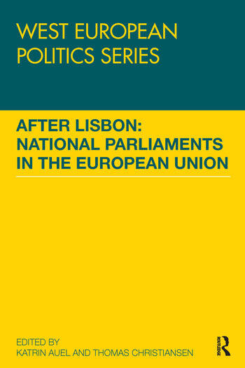 After Lisbon: National Parliaments in the European Union book cover