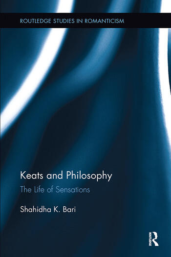 Keats and Philosophy The Life of Sensations book cover