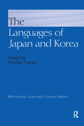 The Languages of Japan and Korea book cover
