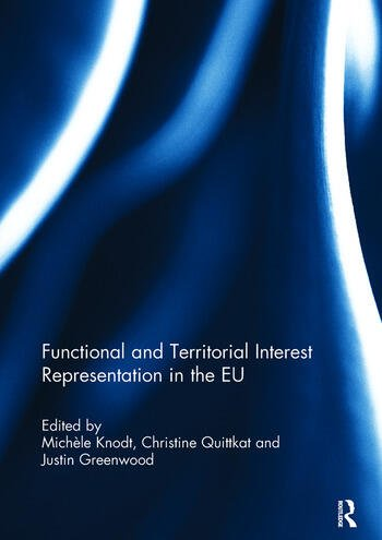 Functional and Territorial Interest Representation in the EU book cover