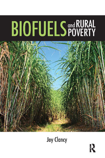 Biofuels and Rural Poverty book cover