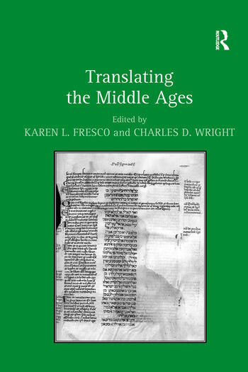 Translating the Middle Ages book cover