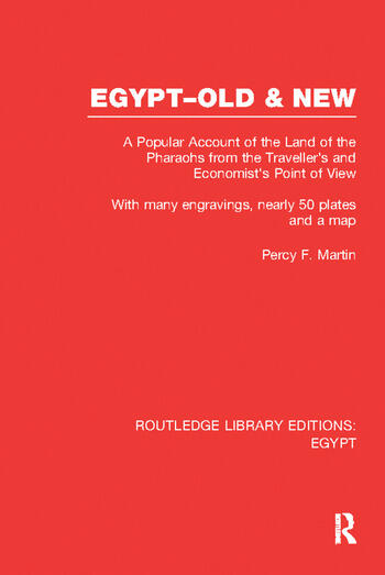 Egypt, Old and New (RLE Egypt) A popular account. With many engravings, nearly 50 coloured plates and a map book cover