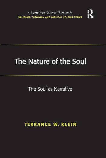 The Nature of the Soul The Soul as Narrative book cover