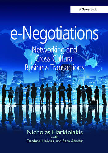 e-Negotiations Networking and Cross-Cultural Business Transactions book cover