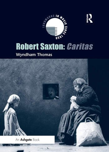 Robert Saxton: Caritas book cover