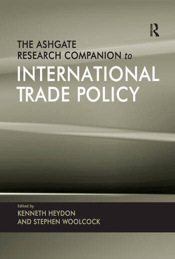 The Ashgate Research Companion to International Trade Policy book cover