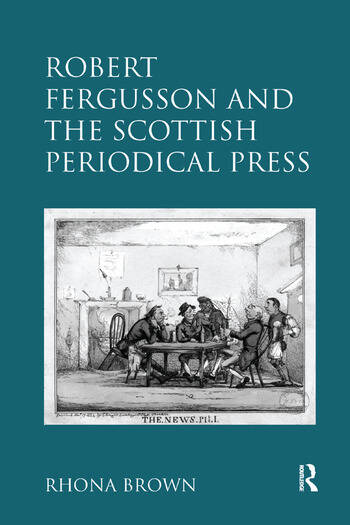 Robert Fergusson and the Scottish Periodical Press book cover