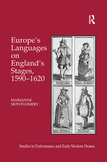 Europe's Languages on England's Stages, 1590–1620 book cover