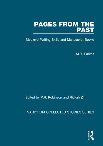 Pages from the Past Medieval Writing Skills and Manuscript Books book cover