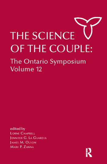 The Science of the Couple The Ontario Symposium Volume 12 book cover