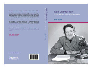 Elsie Chamberlain The Independent Life of a Woman Minister book cover