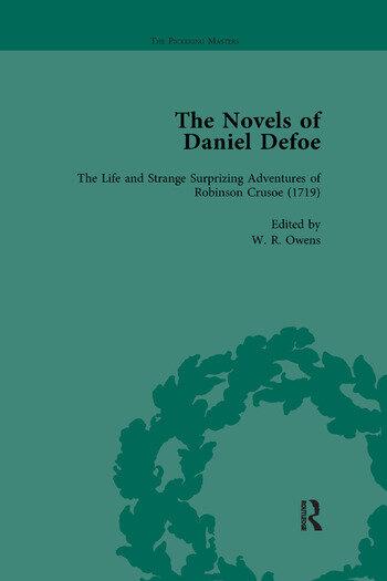 The Novels of Daniel Defoe, Part I Vol 1 book cover