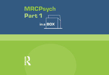 MRC Psych Part 1 In a Box book cover