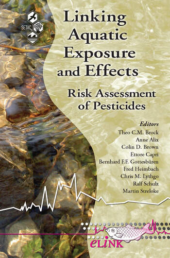 Linking Aquatic Exposure and Effects Risk Assessment of Pesticides book cover