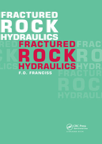 Fractured Rock Hydraulics book cover