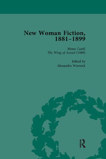 New Woman Fiction, 1881-1899, Part I Vol 3 book cover