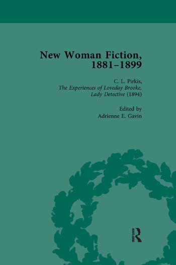 New Woman Fiction, 1881-1899, Part II vol 4 book cover