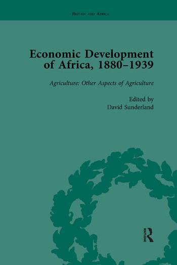 Economic Development of Africa, 1880–1939 vol 3 book cover
