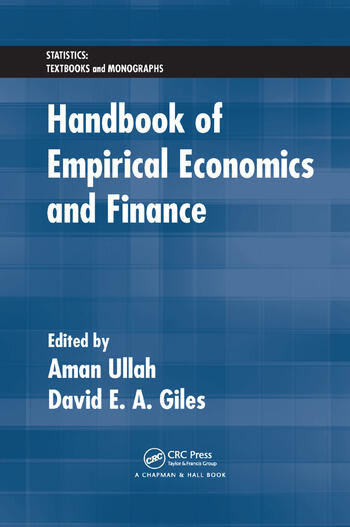 Handbook of Empirical Economics and Finance book cover