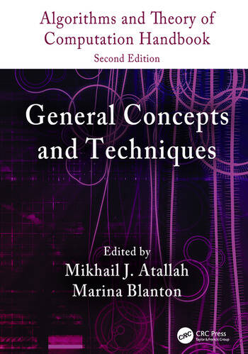 Algorithms and Theory of Computation Handbook, Volume 1 General Concepts and Techniques book cover