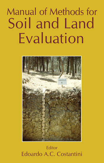 Manual of Methods for Soil and Land Evaluation book cover