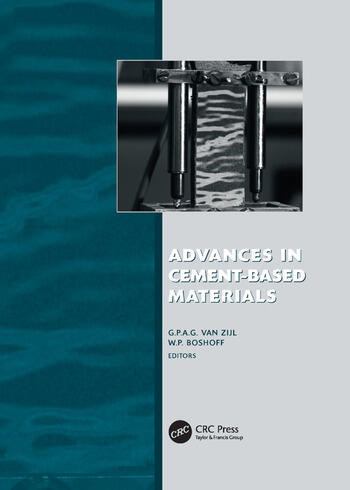 Advances in Cement-Based Materials Proc. Int. Conf. Advanced Concrete Materials, 17-19 Nov. 2009, Stellenbosch, South Africa book cover