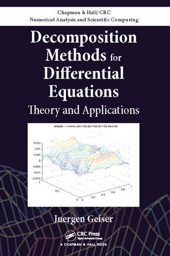 Decomposition Methods for Differential Equations Theory and Applications book cover