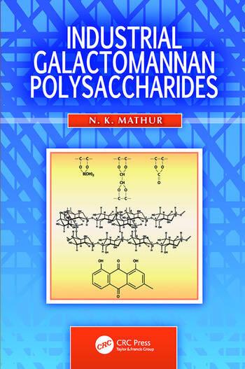 Industrial Galactomannan Polysaccharides book cover