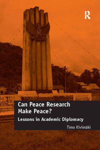 Can Peace Research Make Peace? Lessons in Academic Diplomacy book cover