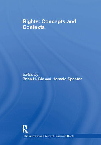 Rights: Concepts and Contexts book cover