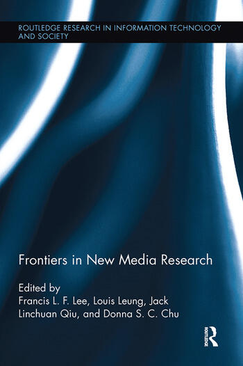 Frontiers in New Media Research book cover