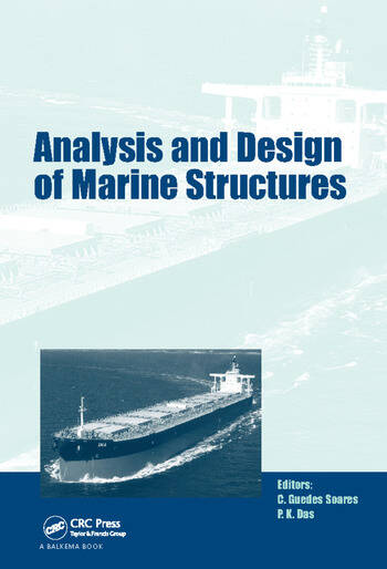 Analysis and Design of Marine Structures including CD-ROM book cover