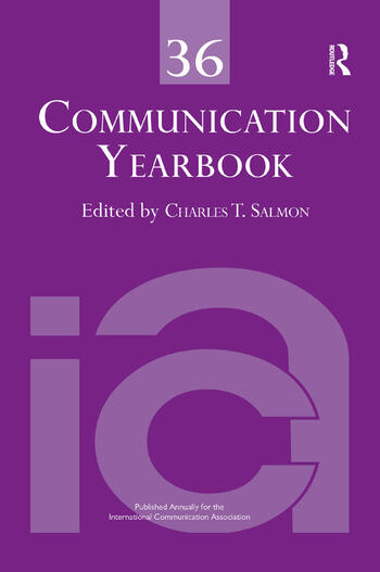 Communication Yearbook 36 book cover