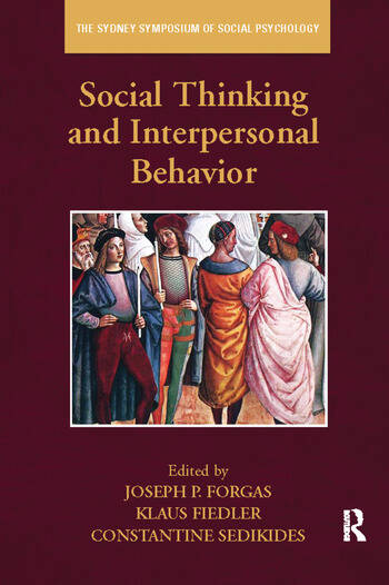 Social Thinking and Interpersonal Behavior book cover