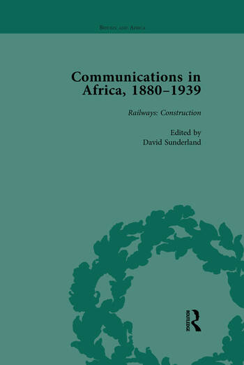 Communications in Africa, 1880–1939, Volume 2 book cover
