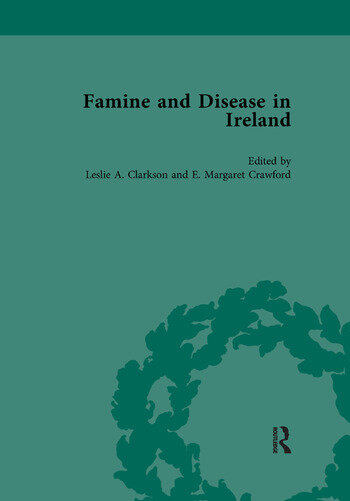 Famine and Disease in Ireland, volume III book cover