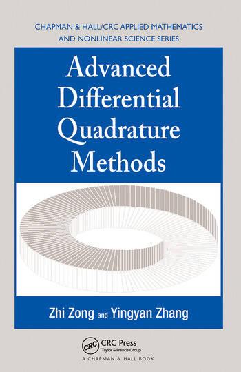 Advanced Differential Quadrature Methods book cover
